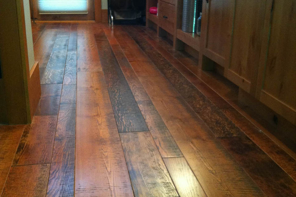 Resawn Fir Flooring