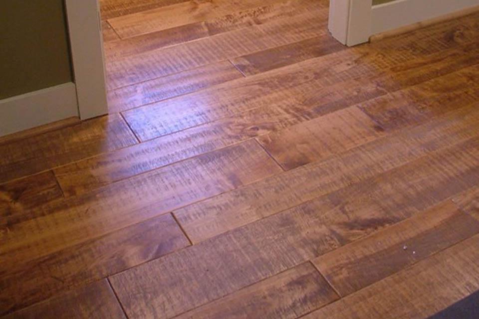 Resawn Maple RS Floor