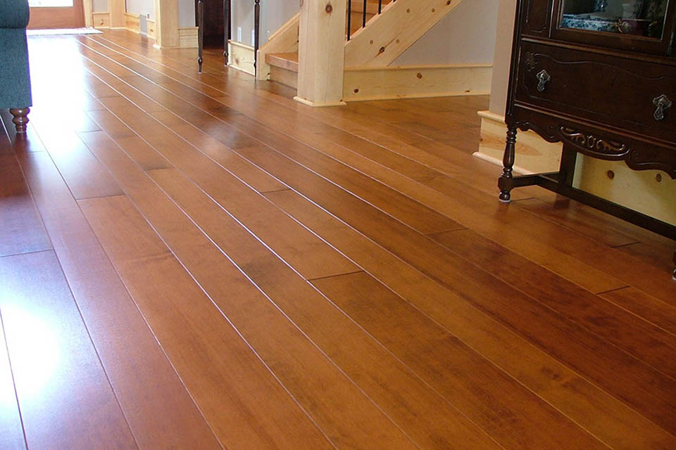 vertical grain Fir flooring