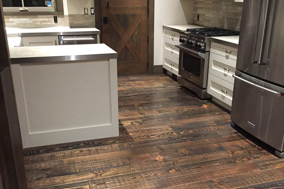 kitchen flooring comox valley