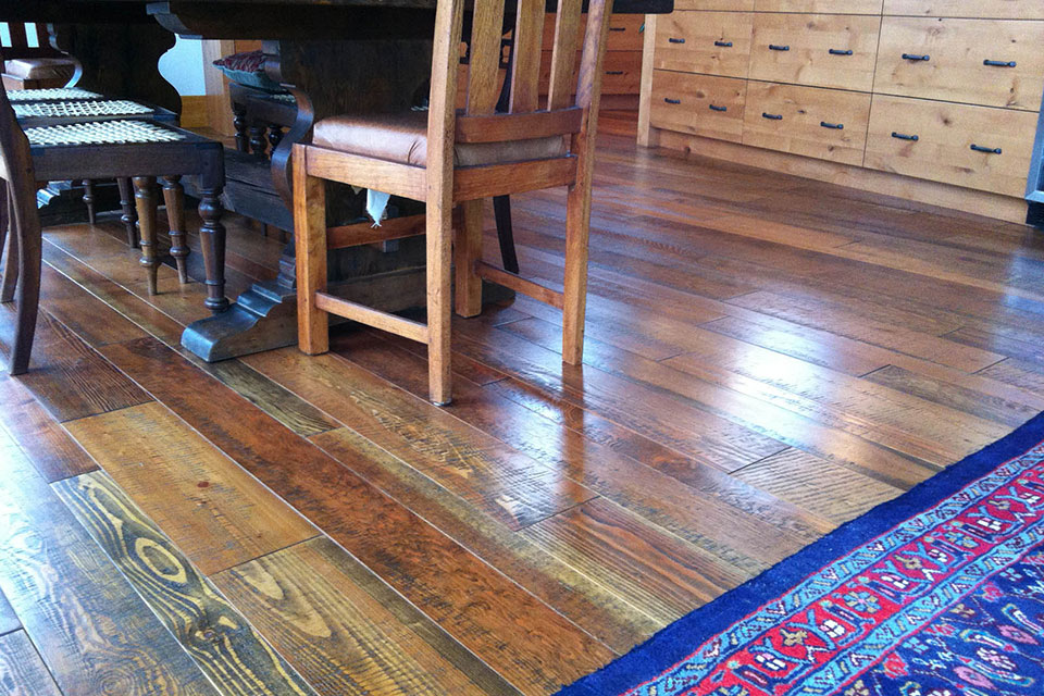 custom fir hardwood flooring