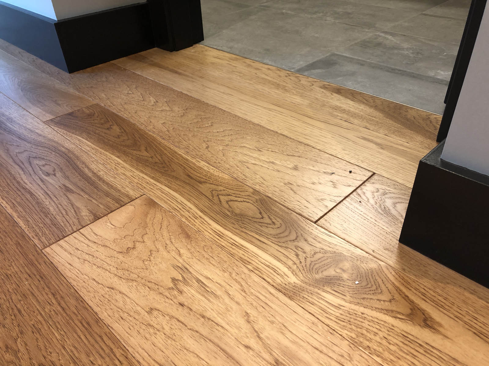 custom hickory hardwood flooring