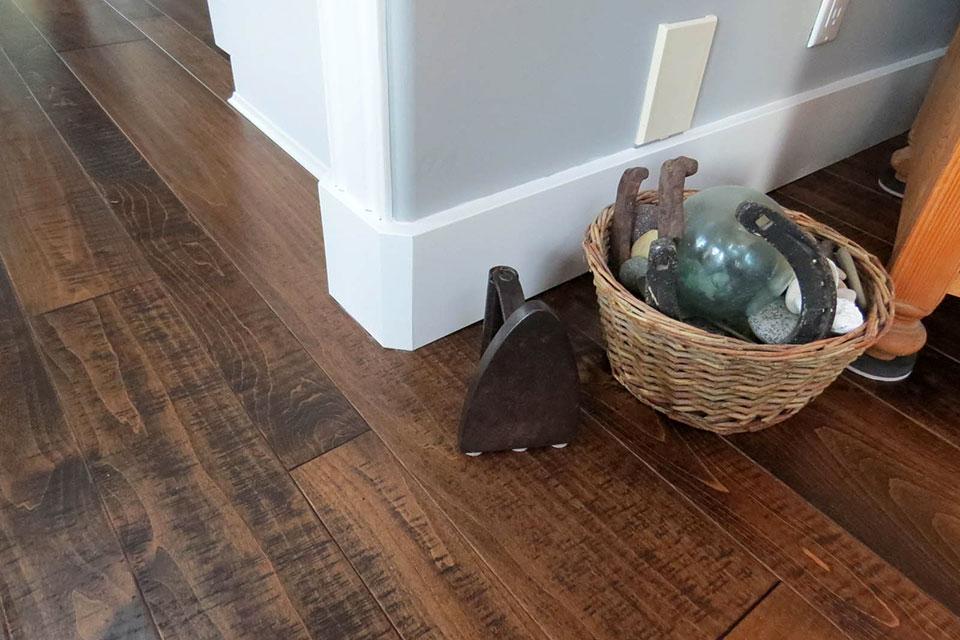 maple resawn hardwood flooring
