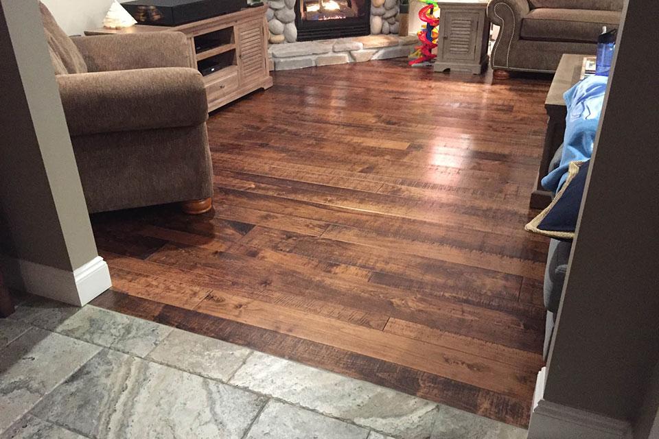 custom wood flooring bc